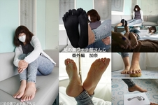 Sole of the foot fetish hall extra edition Kana
