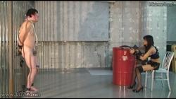 【MistressLand】貞操帯で射精管理されCBT調教されるマゾ男 #010