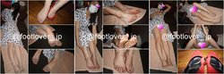[image + video] 18-year-old student's Sultry and smelled Pantyhose feet,barefoot,panty.