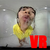 [VR] Falling down like a waterfall Spit splash and tongue play! ! ~ Morikawa-chan ~