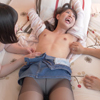 [Tickling / Pantyhose] FM / F Tickling Restraint Pantyhose of Popular Actress Aoi Rena! !