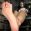 [Masked cosplay] × [Aoi Ichigo] Footwear master of gymnastics suit Kamen Lol girl maybe foot sole (※ guess is) MASK00006b