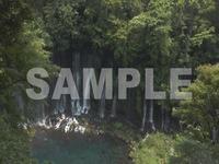 映像素材 白糸の滝