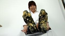 [CRUSH FETISH # 4] Morikawa's Food Crush Lofa / Sock Socks / Barefoot