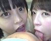 1 Aoi Rena-chan and Nanami Yua-chan's subjective face licking → Tubabello appreciation → Spiting spit!