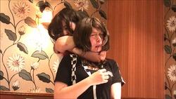 【マジ失神続出!首絞め大会】美百合ちゃん、沙羅ちゃん、くるみちゃん編