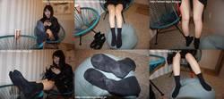 Street legs&socks snaps photos + movie Hikari