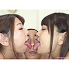 Mikako & Rena - Double Face Nose Licking 3 of 3