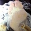 【Longitudinal animation】 Beautiful women's food crash ※ puff cream ※ from downside ④ FETK00469