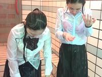 お清め懺悔シャワー(Wet Girls 06B3)